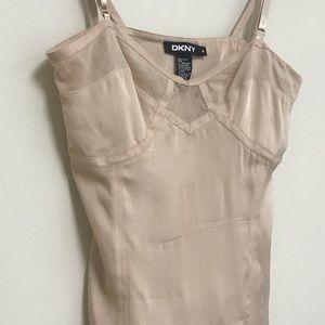 DKNY Women's Silk Top -SIZE 4